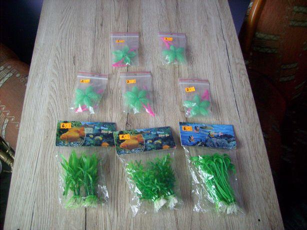 Rośliny sztuczne do akwarium Nowe