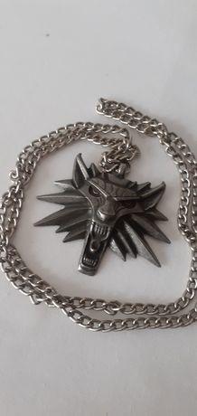 Oryginalny medalion, wisior Wiedźmin 2