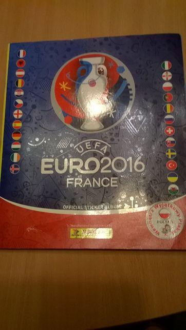 naklejki UEFA EURO 2016 France + czysty album / karty z piłkarzami