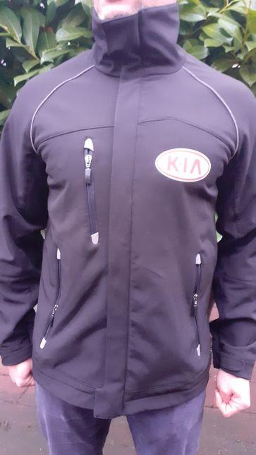 Softshell czarny z logo KIA