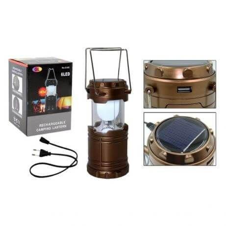 Многофункциональный светодиодный LED фонарь G85 , зарядка от солнца