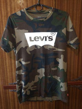 Футболка Levis оригинал камуфляж оригинал Levi's  originals левайс
