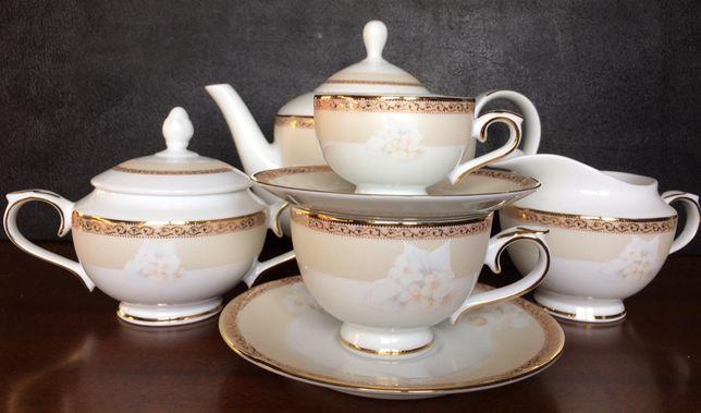 Чайно-кофейный сервиз Mira, 6 персон/29 предметов, японский фарфор.