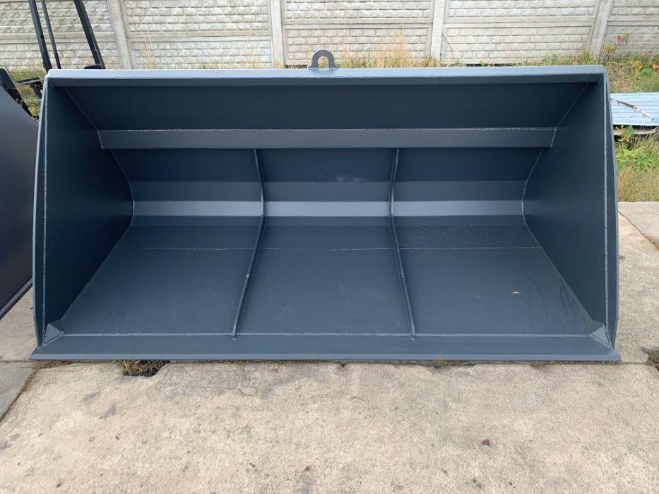 Łyżka, szufla do ładowarki 1,6 m3 240cm JCB Manitou NOWA Kosakowo - image 1