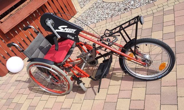 Wózek inwalidzki-rower młodzieżowy