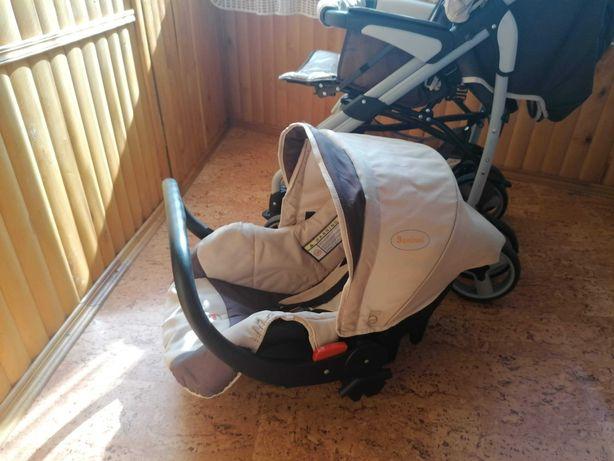 Детская коляска Baninni б/у с автокреслом