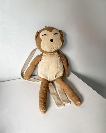 Plecak małpka zara