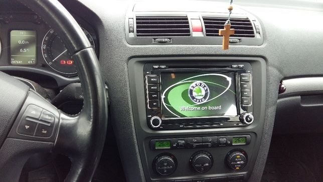 Nawigacja 2DIN Radio Skoda Octavia II Superb Rapid Yeti Roomster Fabia