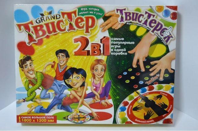 Игра Твистер Гранд Grand Twister ТвистерОк 2 в 1 Твист