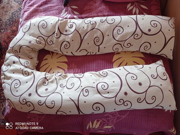 Подушка для беременных, кормления