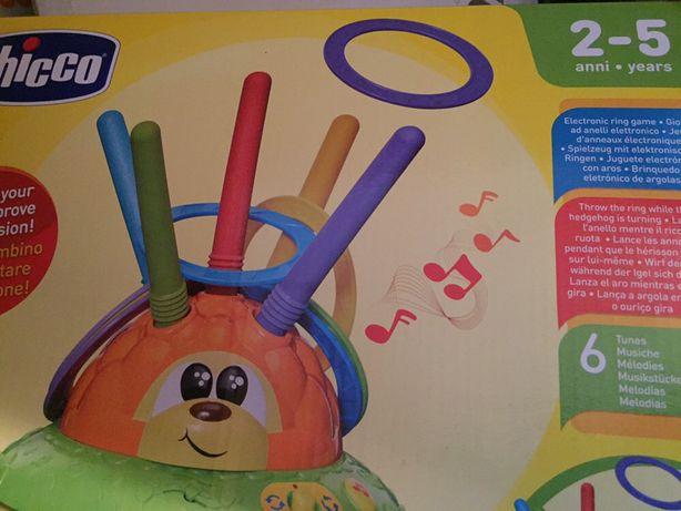 Brinquedo ouriço chicco. 2-5 anos.