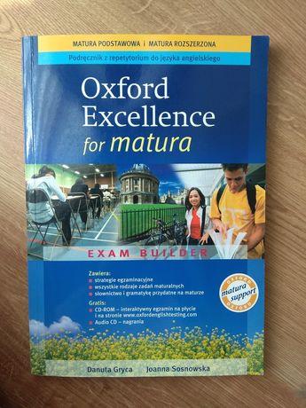 Oxford Excellence for matura podręcznik z repetytorium do angielskiego
