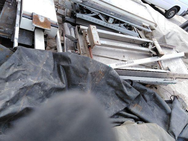 Podstawy noszy prowadnica szuflada półka stoł warsztatowy kamper 4x4