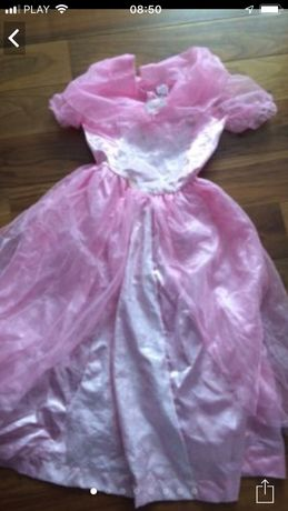 Sukienka przebranie królowej księżniczki