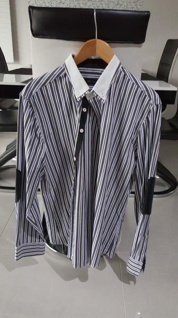 Męska koszula z długim rękawem XL