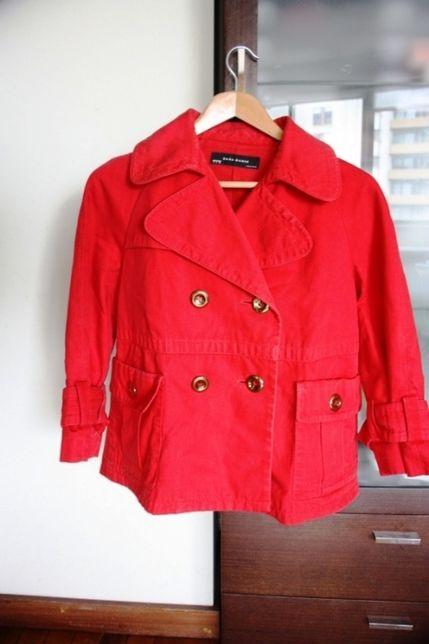 Casaco 100 por cento algodão vermelho ZARA tamanho L