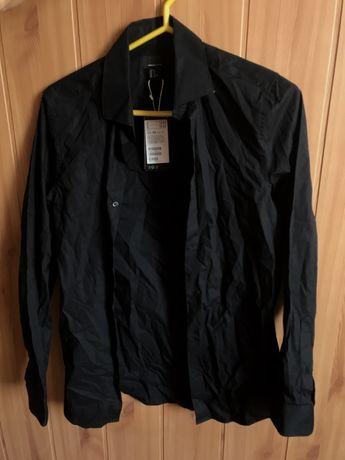 Черная рубашка HM