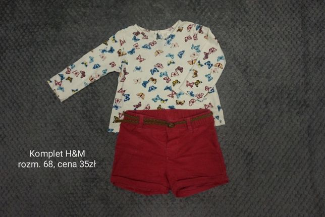 Komplet H&M, rozm. 68