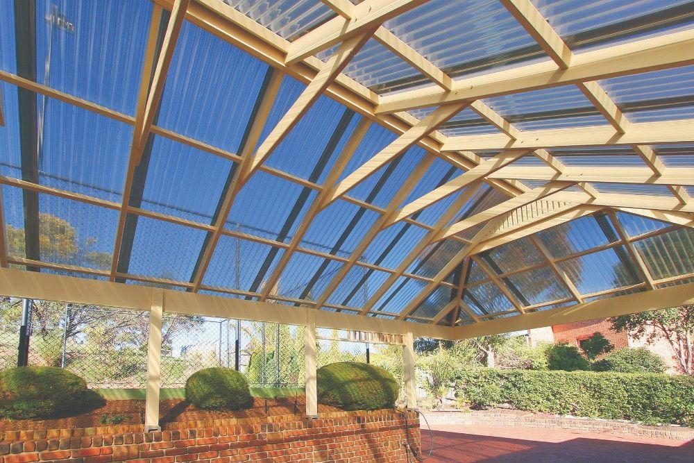 poliwęglan zadaszenie taras pergola altana weranda wiata balkon trapez