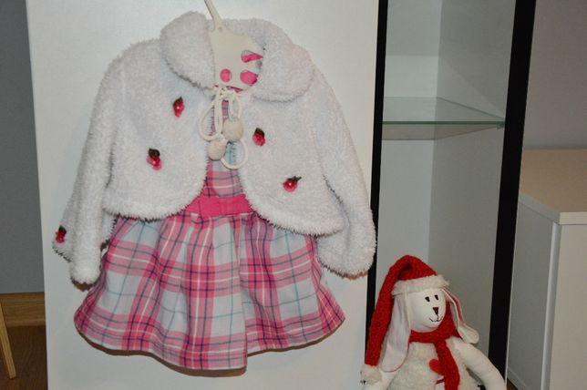 Sukienka,sukienki r. 68 cm / 74 cm 6szt.+ gratis TANIO