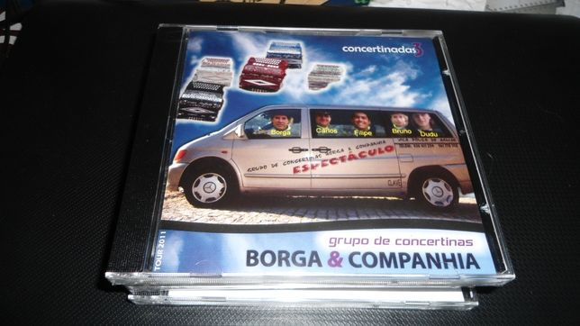 CD - Música de concertina