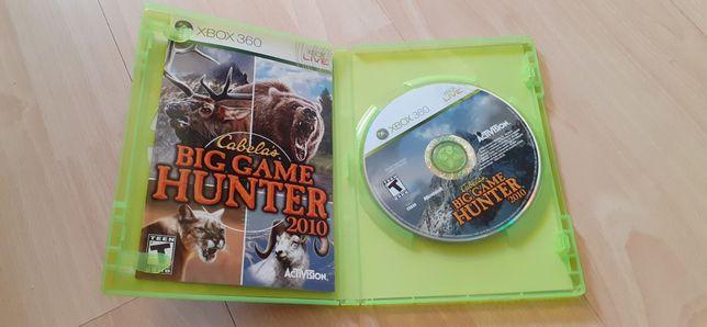 Gra na xboxa 360 Big Game Hunter.
