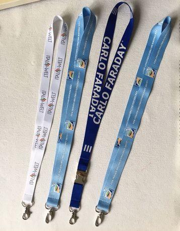 Шнурок с карабином для бейджа, ключей и других целей FIFA