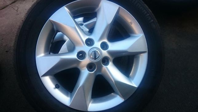 Alufelgi 17 Nissan Juke Qashqai XTrail Primera P12 Leaf Maxima 5x114,3