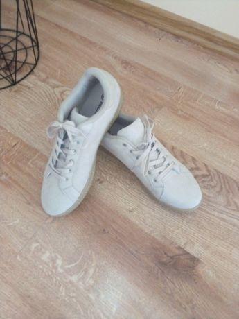 Sneakersy beżowe zamsz roz 43