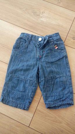 Spodnie jeansy dla małego dziecka - rozm.62cm - stan IDEALNY