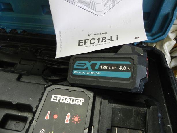 Sprzedam akumulator Erbauer 2Ah i 4Ah