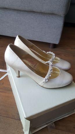 Buty do ślubu Next Ivory  ecru rozmiar 36