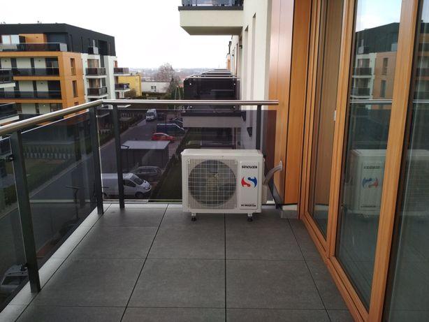 Klimatyzator klimatyzacja -do grzania i chłodzenia - montaż