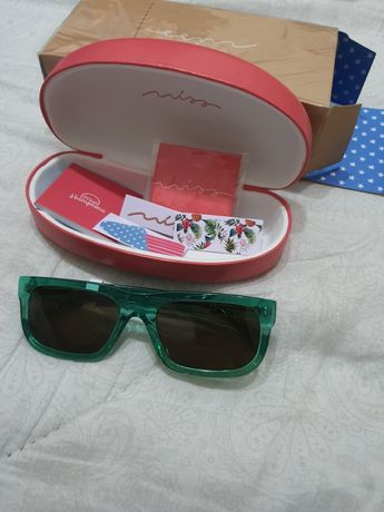 Óculos de sol verdes hawkers