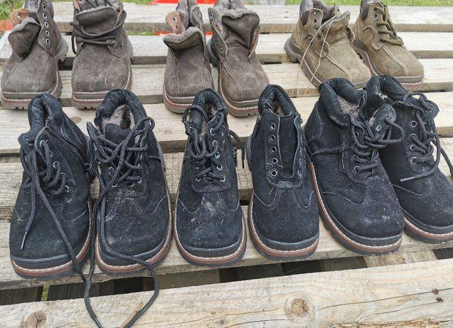 Buty ocieplane dzieciece