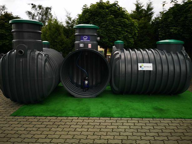 Zbiornik na wodę deszczową deszczówkę 3000L 4000L