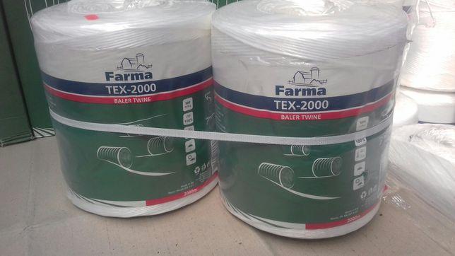 Sznurek do maszyn rolniczych Tex-2000 długość-2000 m