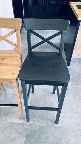 Krzesła ikea hokery barowe ingolf