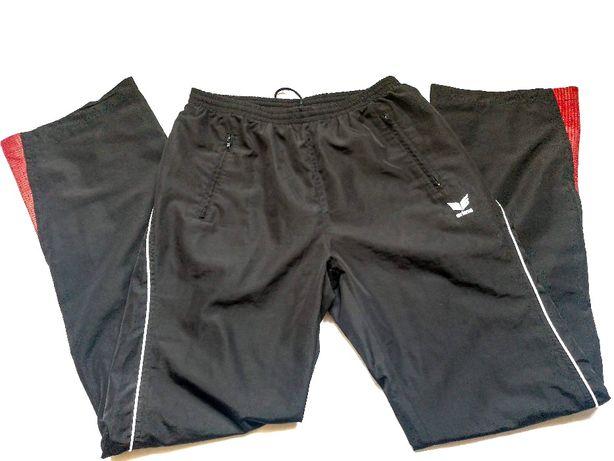 штани чорні прямі унісекс Erima р48-50 на зріст 160-180см