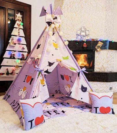 Детский домик для развлечений и игр ,шалаш для детей