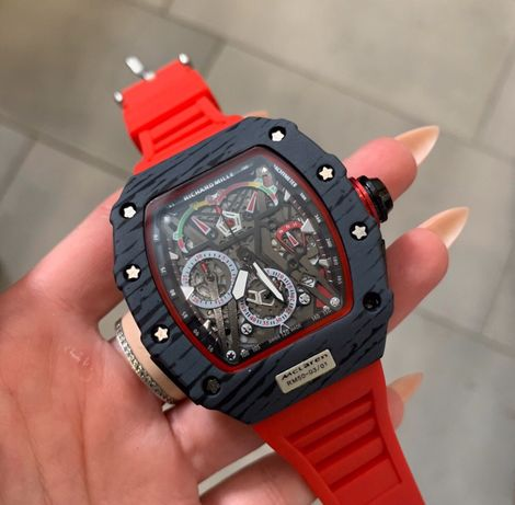 Zegarek Richard Mille Automatic Red