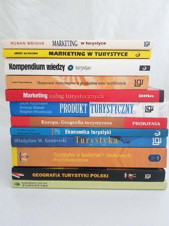 Pakiet 12 książek - MARKETING + TURYSTYKA podręczniki studia