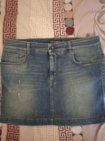 Юбка джинсовая Dolce&Gabbana , юбка женская 46 размер.