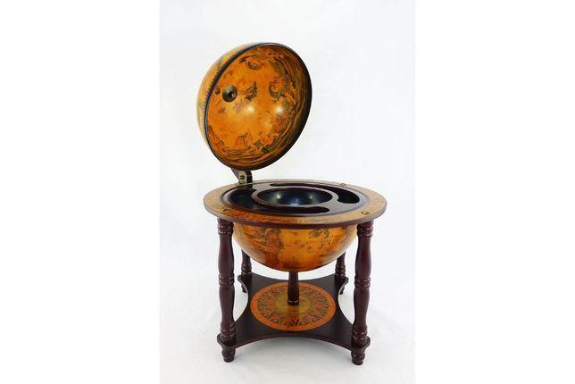 Глобус-бар настольный, 33 см сфера (41 х 41 х 57 см) 33006R