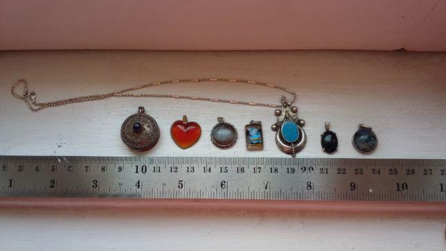 Pendentes / Pingentes em prata para a venda
