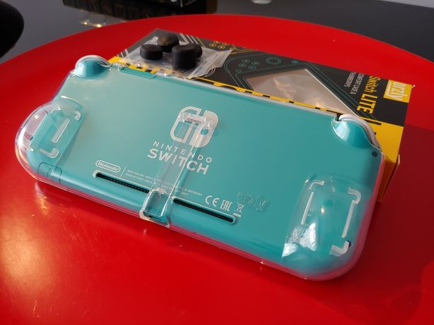 Grip/ suporte Orzly p/ Nintendo Switch Lite
