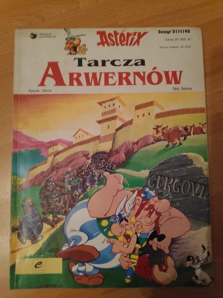 Komiks Tarcza Arwernów