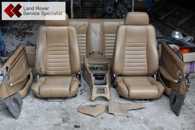 Jaguar XJS Coupe fotele skóra kanapa boczki tunel