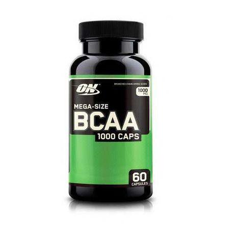 Аминокислота BCAA 1000 (60 caps) Optimum Nutrition