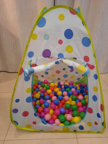 Namiot dla dzieci plus kulki